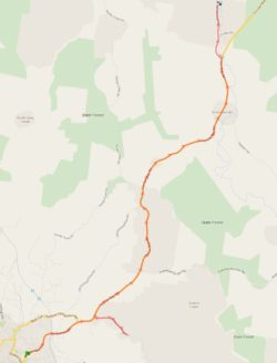 Route 458 – Gympie East Afternoon School Service