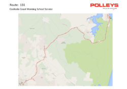 Route 131 – Cooloola Coast Morning School Service