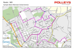 Route 369 – Gympie West Afternoon School Service